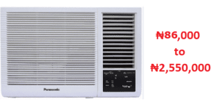 Air Conditioner Prices: ₦86,000 to ₦2,950,000