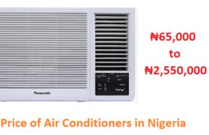 Air Conditioners Prices in Nigeria - AC Prices