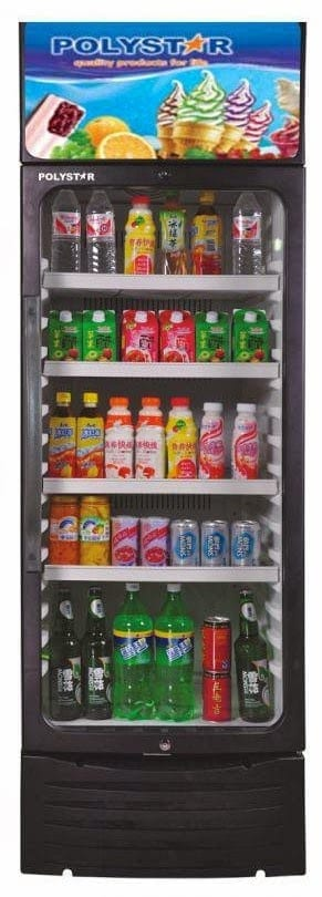 Showcase Style Refrigerator and Chiller or Cooler