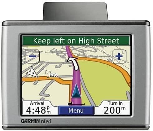 Garmin Nuvi 350 Portable GPS Satellite Navigation