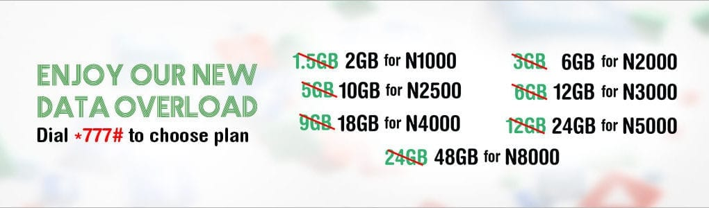 Latest Glo Data Plan Banner