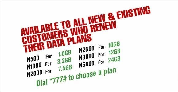 Glo Data Plan Internet Packages Prices 3G 4G LTE