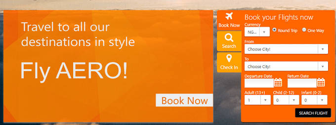 Aero Air Booking – Fly Aero Airlines Book Flight Online Schedule Ticket