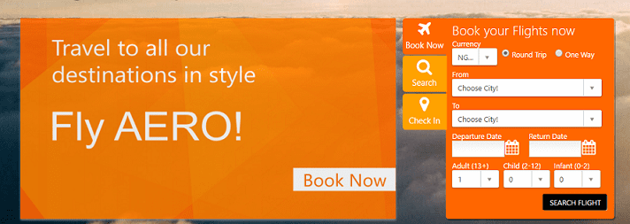 Aero Air Booking Platform
