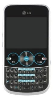 LG GW300 messaging Phone with QWERTY key Overview