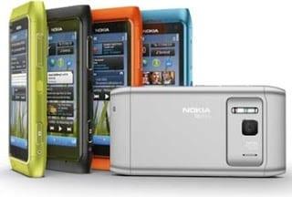 four Nokia N8 Smartphones