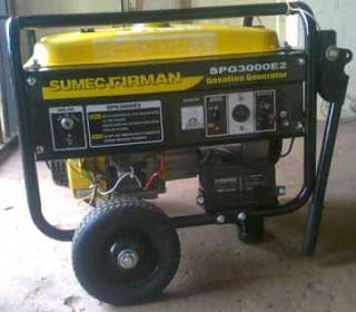 Sumec Firman SPG 3000 generator yellow