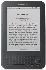 new Kindle ebook reader 2010 edition