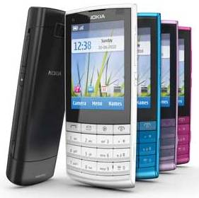 Nokia X3 Touch and Type music phone