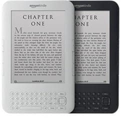 Kindle 3G + Wi-Fi graphite and white
