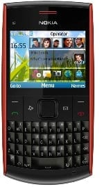 Nokia X2-01 cheap phone with QWERTY