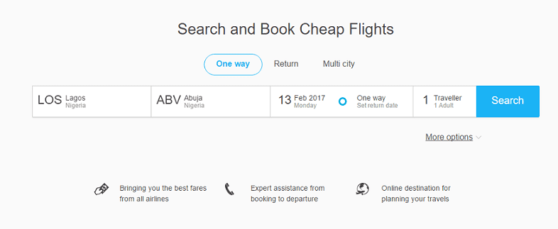 Online Flight Booking and Airline Booking