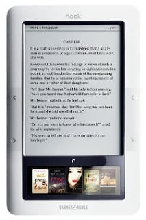 Barnes and Noble Nook Reader