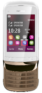 Nokia C2 Touch and Type, Dual SIM phone