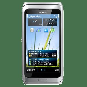 Nokia E7 smartphone for business