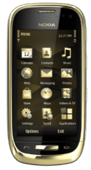 Nokia Oro gold plated smartphone