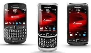 BlackBerry 7 OS Smartphones