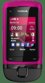 Nokia C2-05 Pink