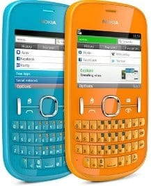 Nokia Asha 200 dual-SIM and Asha 201 Cheap Phones Specs