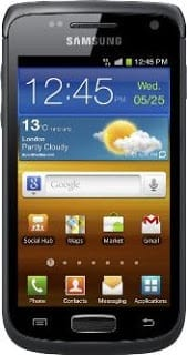 Samsung Galaxy W upper mid-range Android phone
