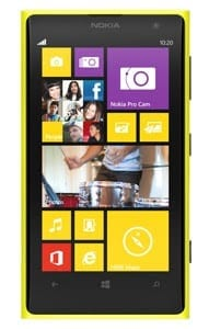 Nokia Lumia 1020 with 41MP Camera - Yellow