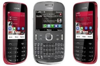 Latest Nokia Asha 302, 203 and 202 MWC 2012