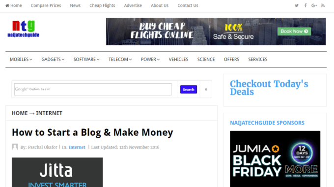 How to Start a Blog & Make Money