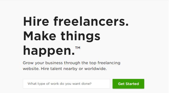 Upwork - Best Freelancing Websites
