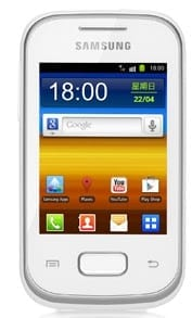 Samsung Galaxy Pocket S5300 Review Price Specs