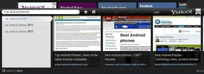 Yahoo Axis: another Browser this time from Yahoo