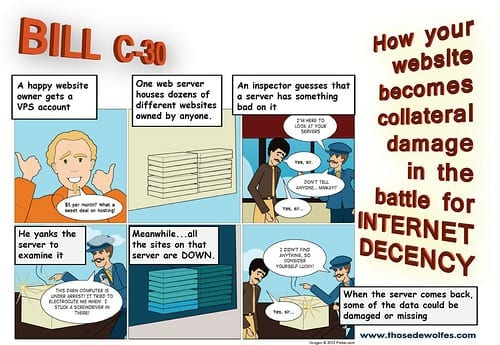 How Bill C-30 could wreck your website by MikeDeWolfe, on Flickr