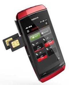 Nokia Asha 305 Dual-SIM phone