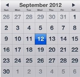 iPhone 5 unveiling September 12, 2012