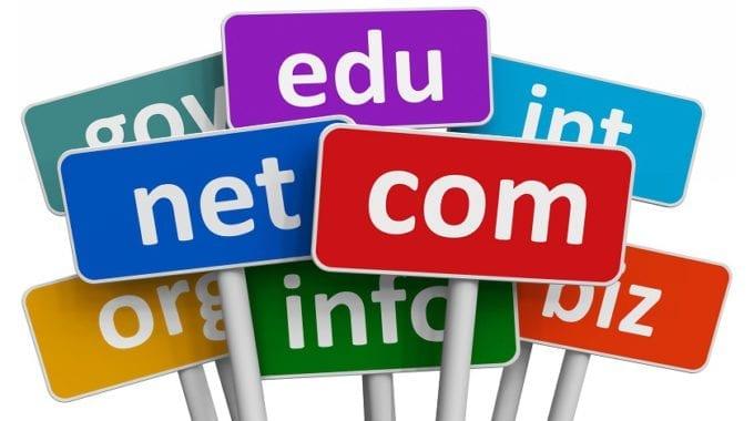 Register .com .net .org domain name