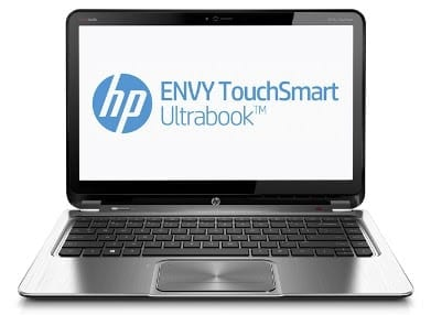 HP Envy Touchsmart Ultrabook 4 PC Specs Price