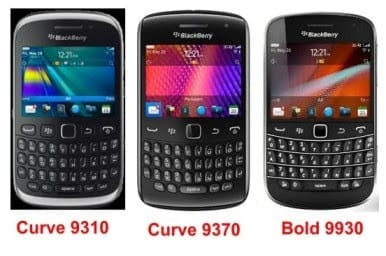 BlackBerry from Visafone