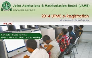 JAMB UTME 2014 Registration & Dates www.jamb.org.ng Direct Entry