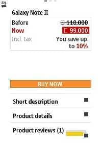 Jumia Mobile Buy Button