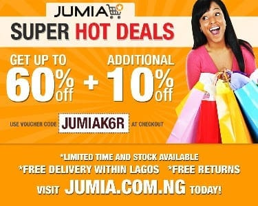 Jumia January Super Hot Deals
