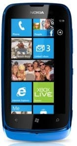 Nokia Lumia 610 Price in Nigeria