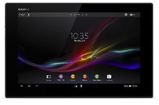 Sony Xperia Tablet Z Specs & Price