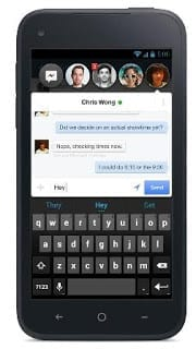 Facebook Home on Android
