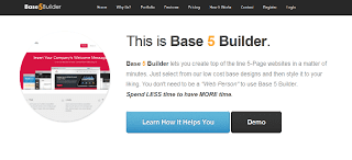 Base 5 Builder – Create Websites From Ready-Made Templates in Just 5 Minutes