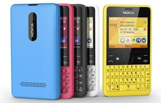 Nokia Asha 210 Lineup
