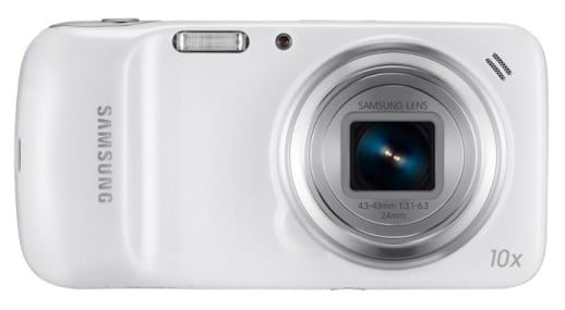 Samsung Galaxy S4 Zoom - 16MP Camera Side
