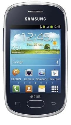 Samsung Galaxy Star Price in Nigeria