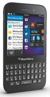 BlackBerry Q5 - Black