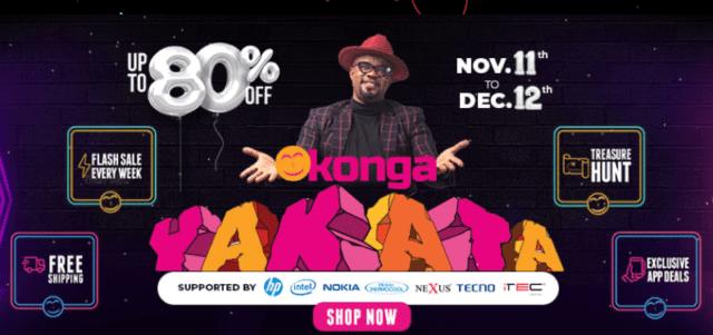 Konga Black Friday 2019