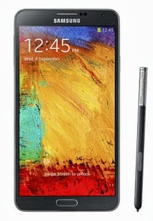 Samsung Galaxy Note 3 with S-Pen Stylus