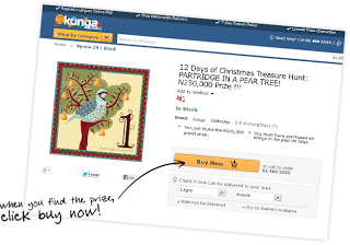 12 Days of Christmas Giveaways from Konga